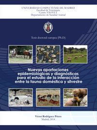 Tesis Doctoral de Victor Rodríguez Prieto, New epidemiological and diagnostic tools for the study of the interaction between domestic and wild animals